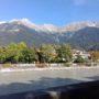Pohled na poho²í Karwendel od budovy CCB